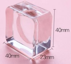"Crystal Plate ""Square BIG"""