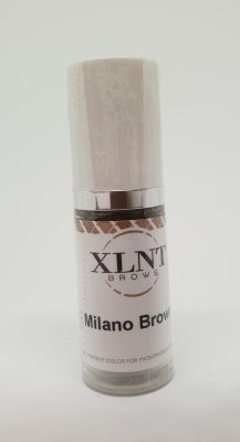 Microblading Pigment Milano Brown 10ml, XLNT BROWS