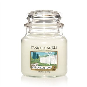 Yankee Candle Clean Cotton Jar